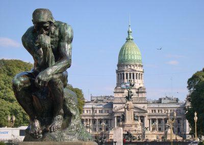 Buenos_Aires-Plaza_Congreso-Pensador_de_Rodin