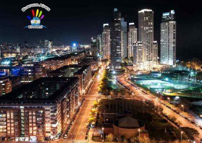 buenos aires de noche fotos en la noche de buenos aires argentina edificios