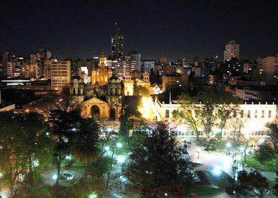 cordoba de noche en Argentina