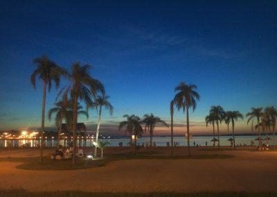foto costanera misiones de noche argentina foto atardecer