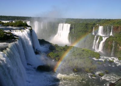 fotos arcoiris en cataratas misiones argentina