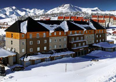 las leñas en Mendoza Argentina esquiar