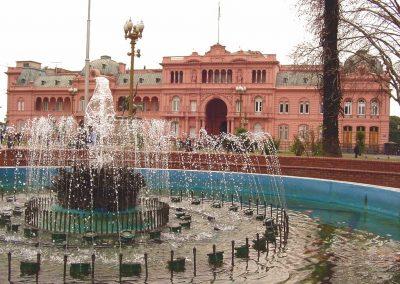 Casa Rosada de Buenos Aires en red Argentina