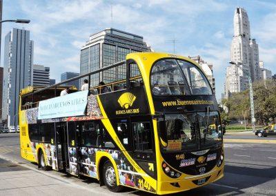 bus turistico de Buenos Aires en red Argentina