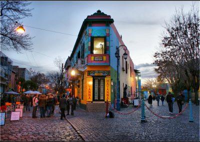 caminilo la Boca Buenos Aires en red Argentina